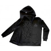 Skate Like A Snowboarder Stealth Hoodie